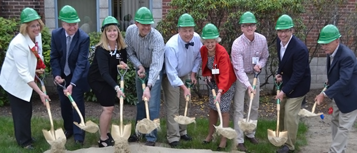 Groundbreaking takes place for South County Hospital's sixth OR