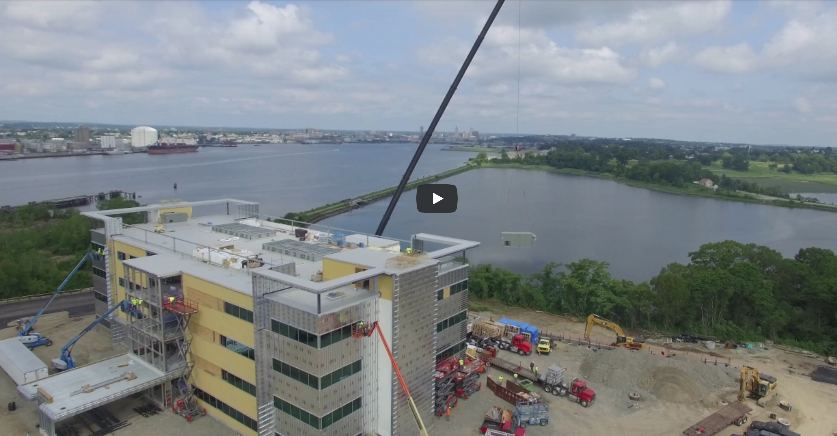 University Orthopedics Progress – Drone Video